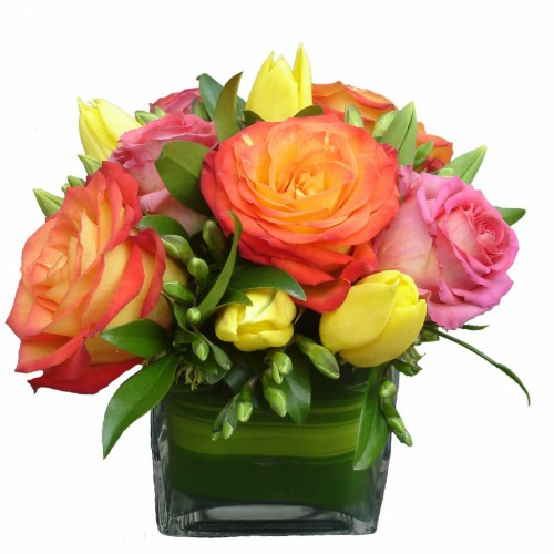 foxgloves flowers victoria bc florist Romantic Roses, Fresh Compacts	orange, yellow, pink anniversary, professional admin week, baby mothers happy birthday  get well sympathy modern just because congratulations delight