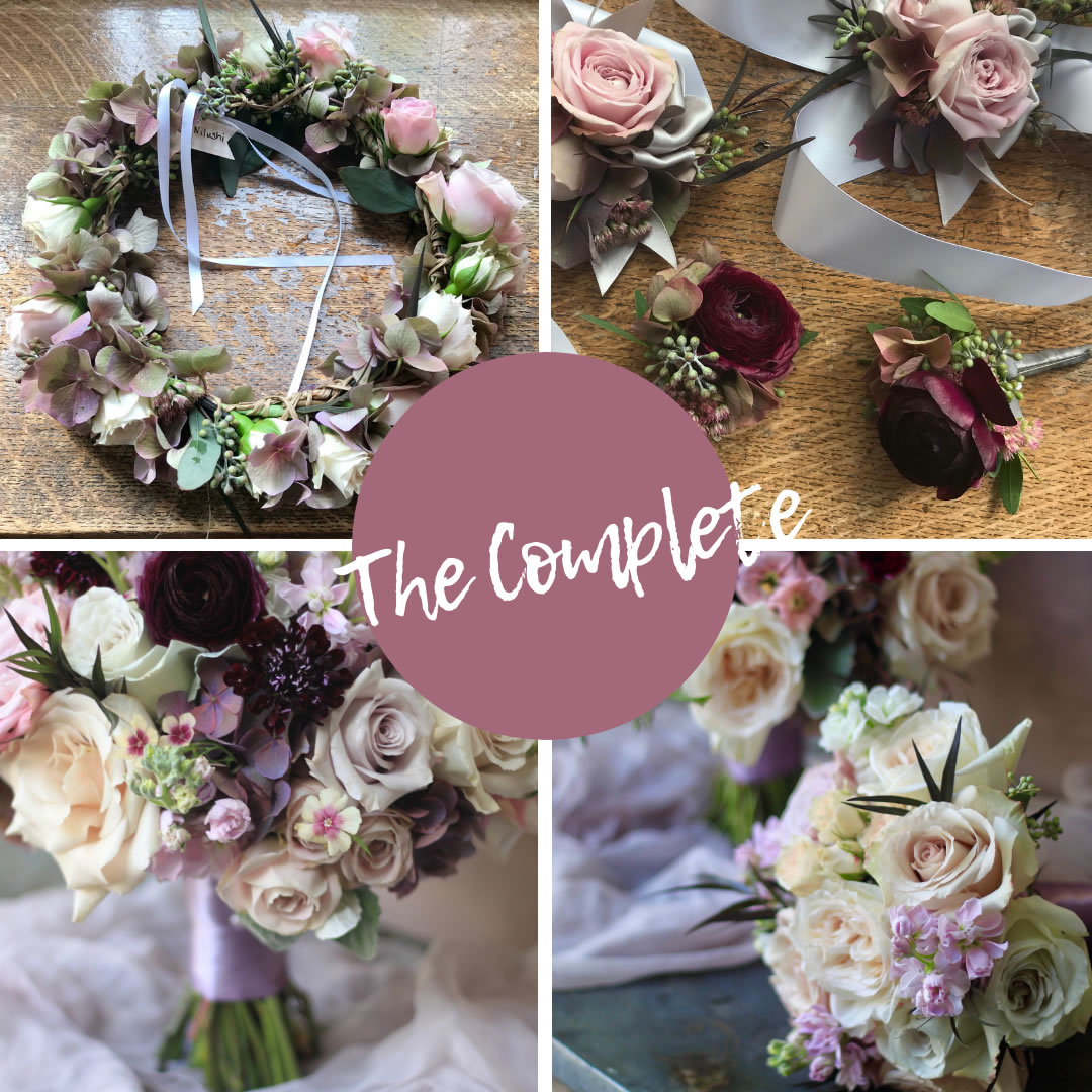 foxgloves flowers victoria bc florist elopement delivery-included the complete experience elopement package
