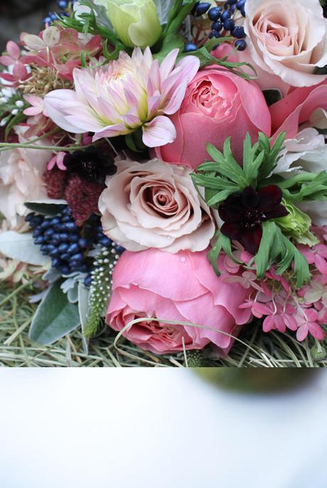 Rustic Elegance Bridal Bouquet