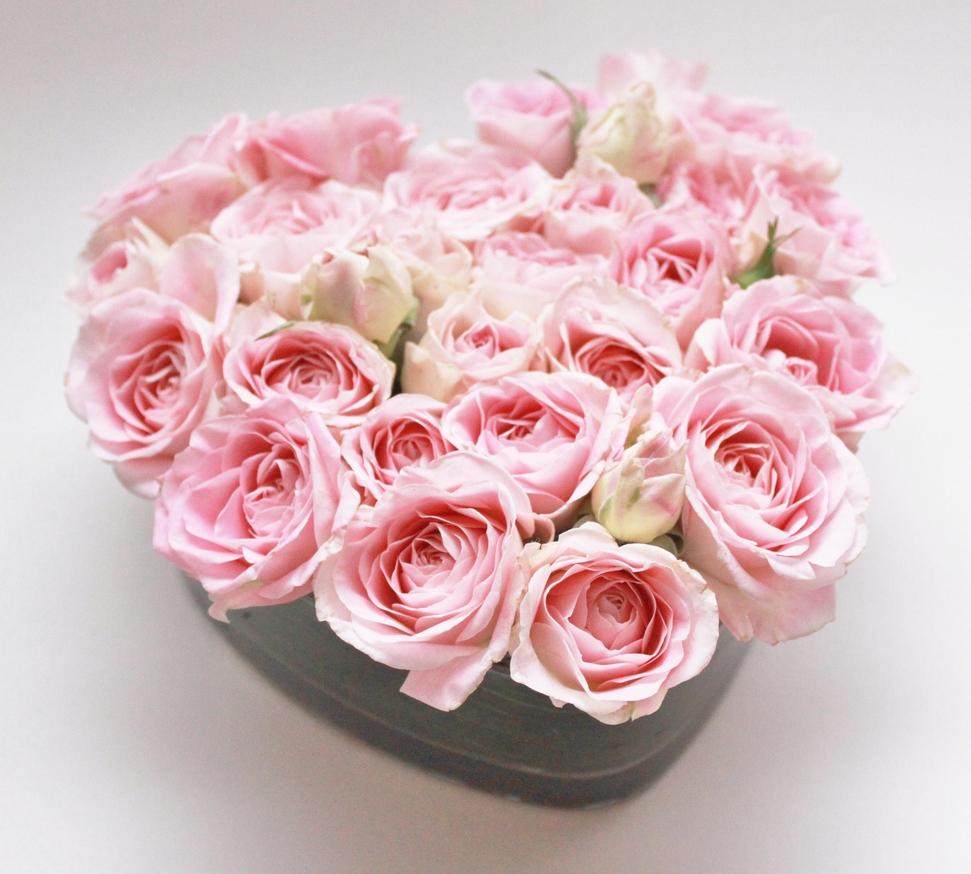 Valentine's Day Heart Flowers