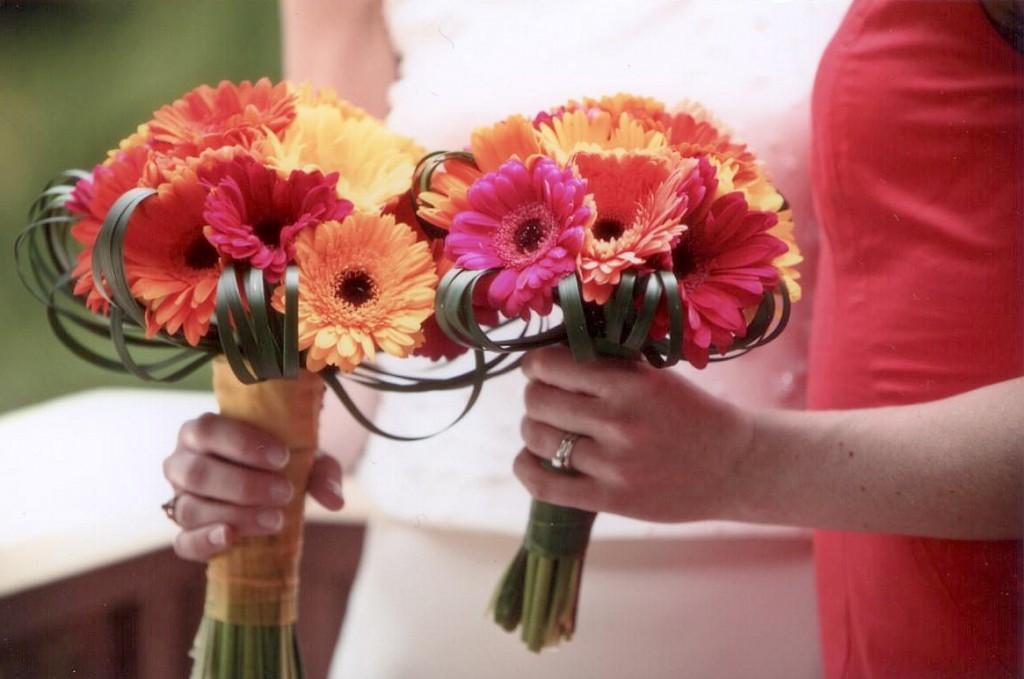 Gerbera posy bouquet