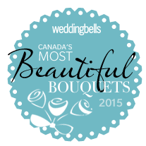 "Wedding Bells Magazine ""Most beautiful Wedding Bouquets of 2015"""