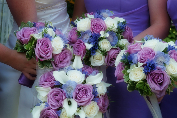 Cool Water Bouquets