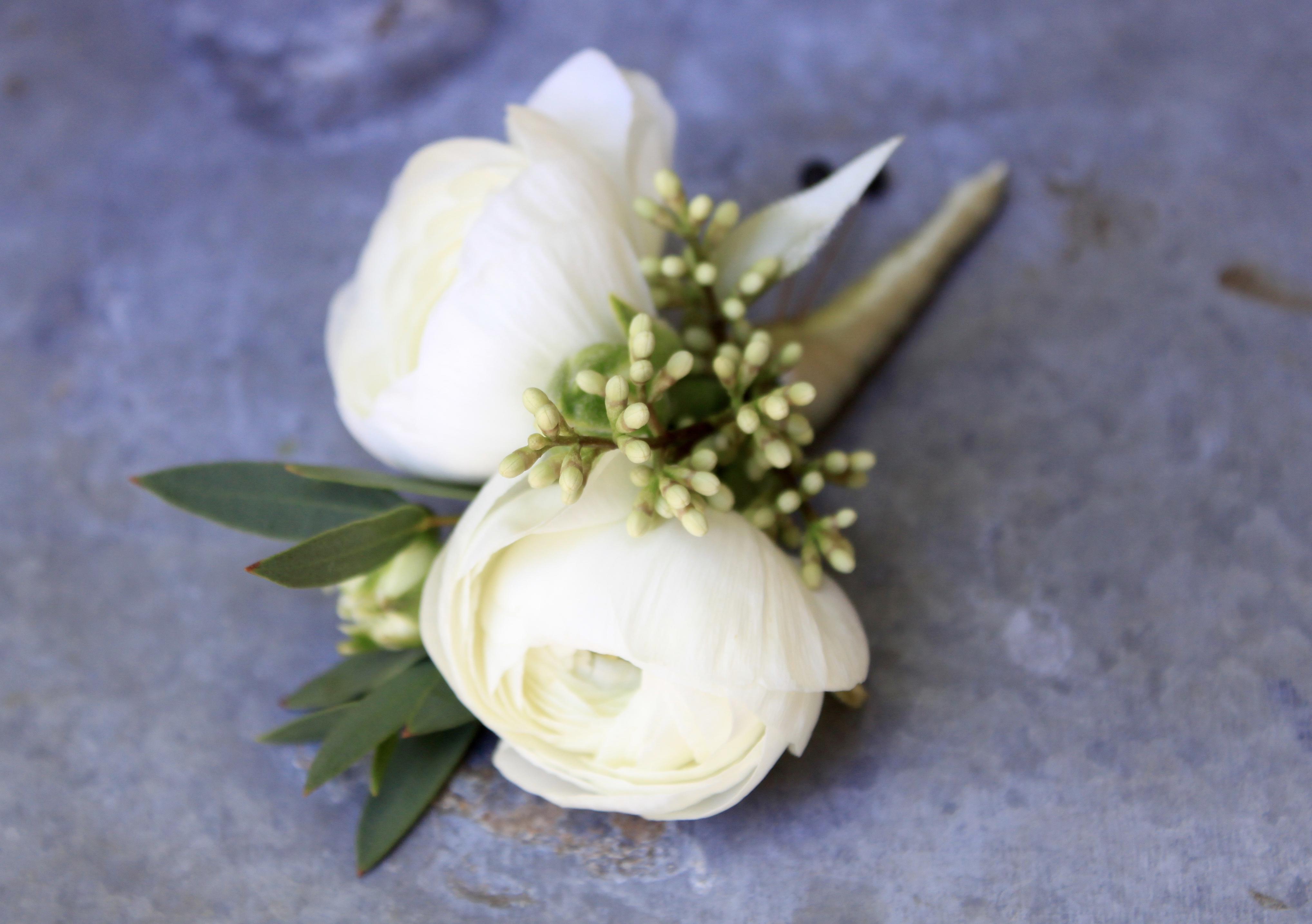 Ranunculus Boutonniere