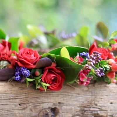 Medieval Wedding- A Floral Crown