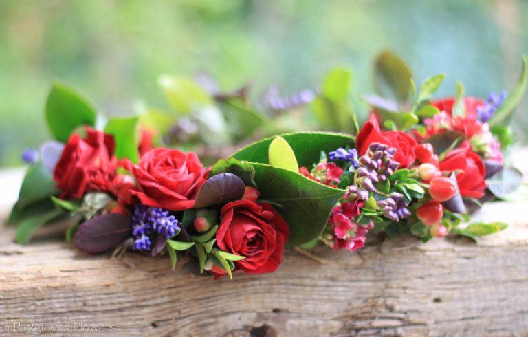 Medevil Floral Crown by Foxgloves Flowers