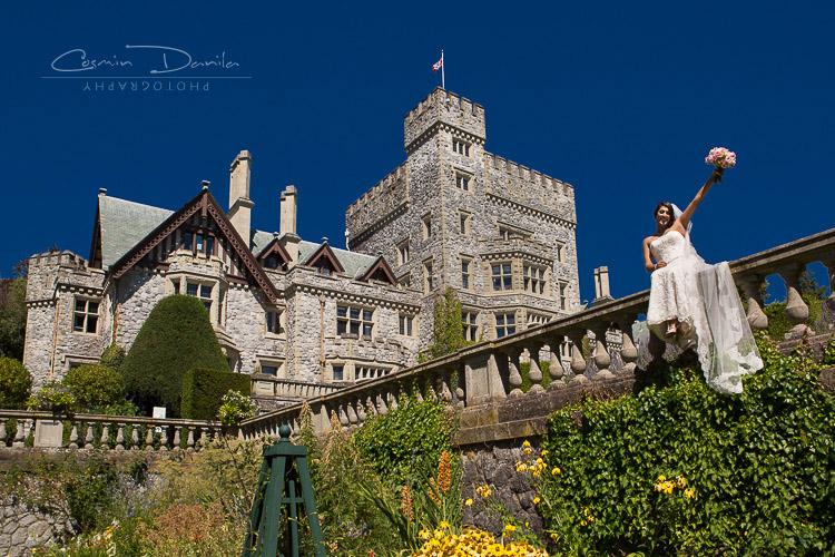 Victoria Outdoor Wedding Photography British Columbia Destination Wedding Pictures Vancouver Island 31 Hatley Castle