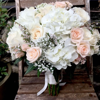 boho beauty - Garden Rose Bouquet