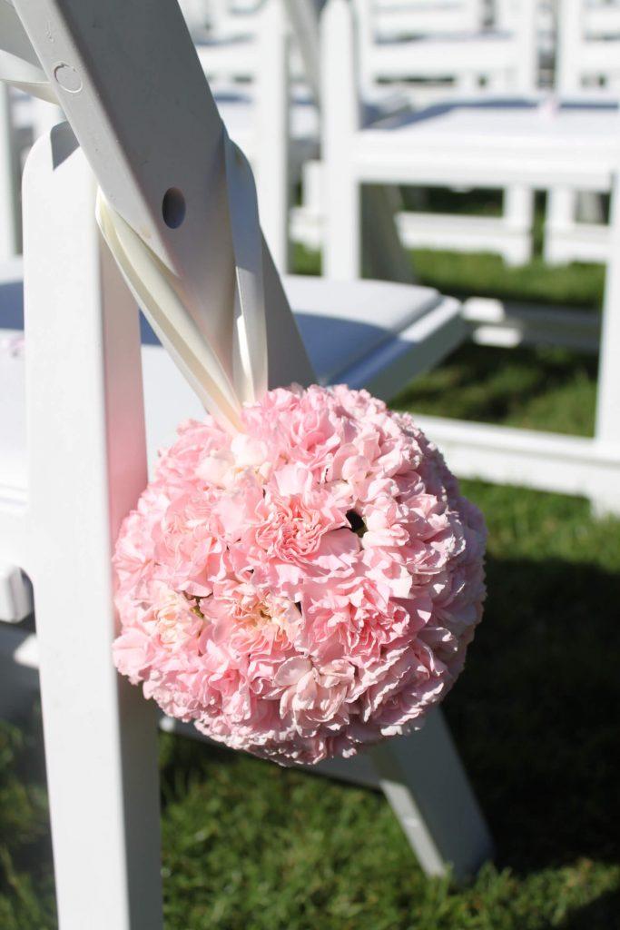 Garden Aisle Pomander Balls