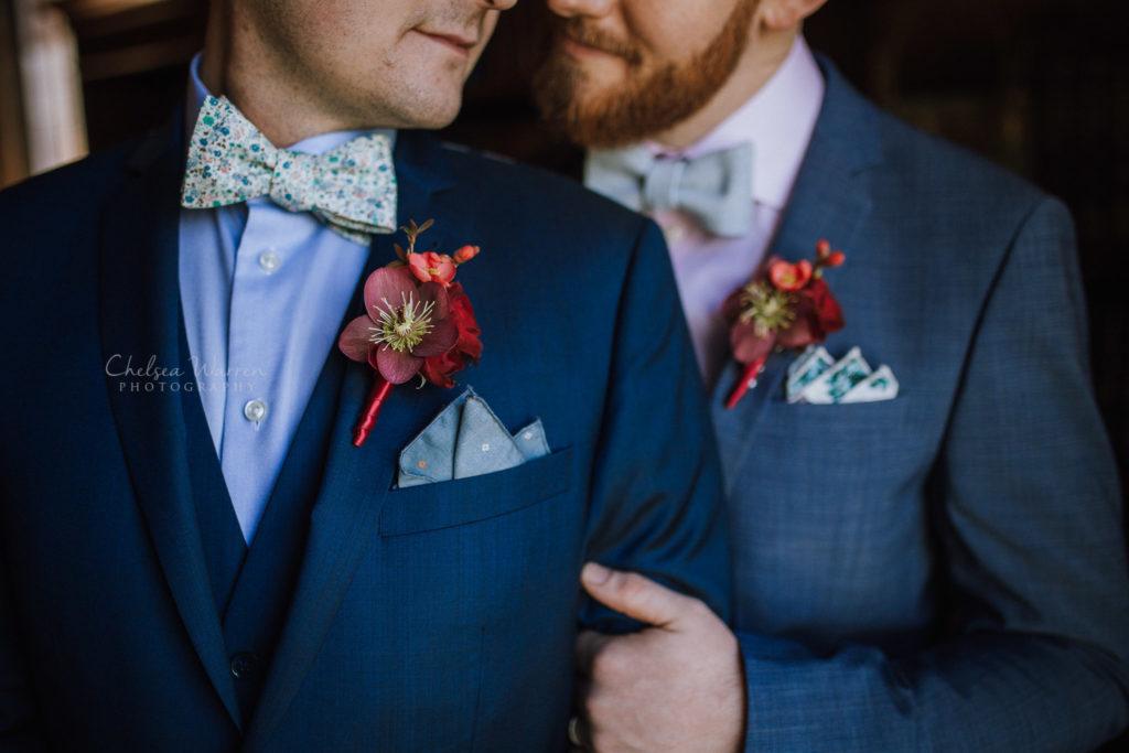timeless & romantic vintage wedding florals